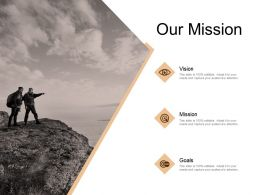 Our Mission Vision Goal E380 Ppt Powerpoint Presentation File Slides