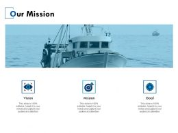 Our Mission Vision Goal E38 Ppt Powerpoint Presentation Gallery Slides