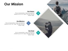 Our Mission Vision Goal E398 Ppt Powerpoint Presentation File Slides