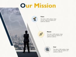 Our Mission Vision Goal E78 Ppt Powerpoint Presentation Infographics Elements