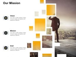 Our Mission Vision Goal F367 Ppt Powerpoint Presentation Pictures Influencers