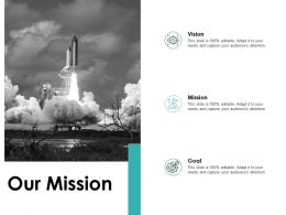 Our Mission Vision Goal F780 Ppt Powerpoint Presentation Show Files