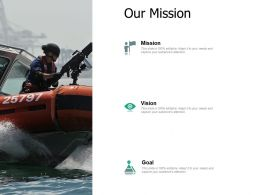 Our Mission Vision Goal F806 Ppt Powerpoint Presentation Pictures