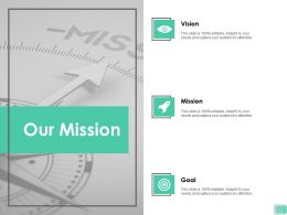 Our Mission Vision Goal G12 Ppt Powerpoint Presentation Inspiration File Formats