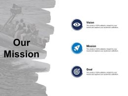 Our Mission Vision Goal G32 Ppt Powerpoint Presentation Pictures Template