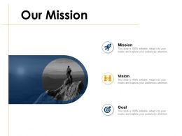 Our Mission Vision Goal G9 Ppt Powerpoint Presentation Clipart