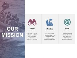 Our Mission Vision Goal J204 Ppt Powerpoint Presentation File Outfit