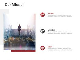 Our Mission Vision Goal J226 Ppt Powerpoint Presentation File Rules