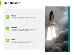 Our Mission Vision Goal J39 Ppt Powerpoint Presentation File Designs