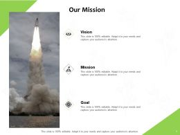 Our Mission Vision Goal J84 Ppt Powerpoint Presentation Icon Deck
