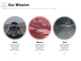 Our Mission Vision Goal K149 Ppt Powerpoint Presentation Objects