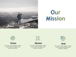 Our Mission Vision Goal K173 Ppt Powerpoint Presentation Gallery