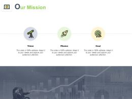 Our Mission Vision Goal K258 Ppt Powerpoint Presentation Gallery Templates