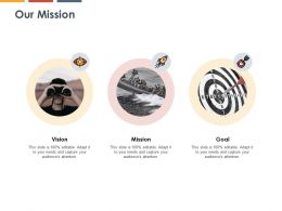 Our Mission Vision Goal K269 Ppt Powerpoint Presentation Ideas Layout