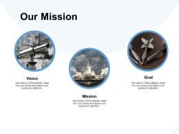Our Mission Vision Goal K309 Powerpoint Presentation Gallery Designs