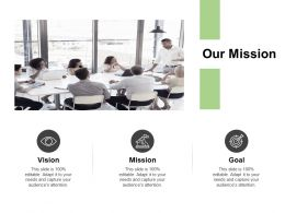 Our Mission Vision Goal K378 Ppt Powerpoint Presentation Download