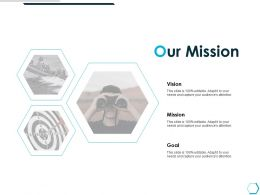 Our Mission Vision Goal K50 Ppt Powerpoint Presentation Picture