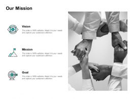 Our Mission Vision Goal L168 Ppt Powerpoint Presentation Visual