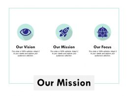 Our Mission Vision Goal L182 Ppt Powerpoint Presentation Ideas Maker