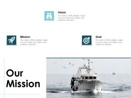 Our Mission Vision Goal L36 Ppt Powerpoint Presentation Shapes