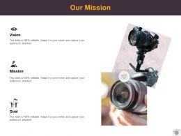 Our Mission Vision Goal L517 Ppt Powerpoint Presentation Portfolio Microsoft
