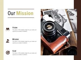 Our Mission Vision Goal L547 Ppt Powerpoint Presentation File Layouts