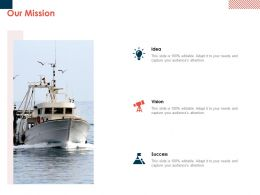 Our Mission Vision Goal L61 Ppt Powerpoint Presentation Styles Summary