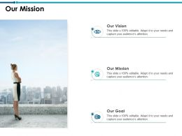 Our Mission Vision Goal L757 Ppt Powerpoint Presentation Structure