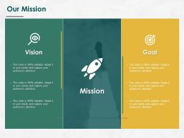 Our Mission Vision Goal L760 Ppt Powerpoint Presentation Outline Gallery