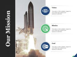 Our Mission Vision Goal Marketing Strategy Target