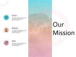 Our Mission Vision Goal Marketing Strategy Values
