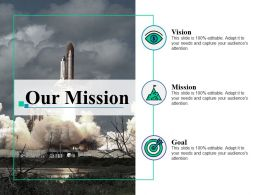 Our Mission Vision Goal Ppt Layouts Example Introduction