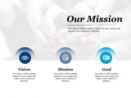 Our Mission Vision Goal Ppt Powerpoint Presentation File Styles