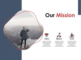 Our Mission Vision Goal Ppt Powerpoint Presentation Gallery Background