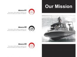 Our Mission Vision Goal Ppt Powerpoint Presentation Gallery Show