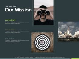 Our Mission Vision Goal Ppt Powerpoint Presentation Inspiration Pictures