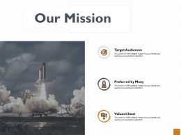 Our Mission Vision Goal Ppt Powerpoint Presentation Outline Files