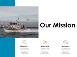 Our Mission Vision Goal Ppt Powerpoint Presentation Styles Layouts