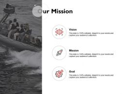 Our Mission Vision Goal Success K249 Ppt Powerpoint Presentation Themes