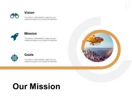 Our Mission Vision Goals C260 Ppt Powerpoint Presentation Graphics