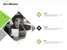 Our Mission Vision Goals F827 Ppt Powerpoint Presentation Pictures Guide