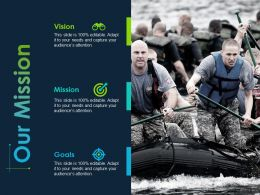 Our Mission Vision Goals Ppt Powerpoint Presentation File Graphics Tutorials