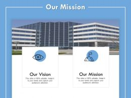 Our Mission Vision I149 Ppt Powerpoint Presentation File Summary