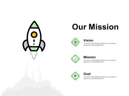 Our Mission Vision I177 Ppt Powerpoint Presentation Layouts Influencers