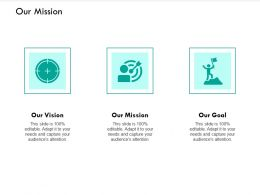 Our Mission Vision I272 Ppt Powerpoint Presentation File Grid