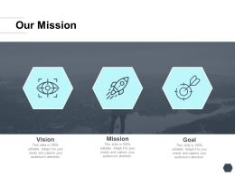 Our Mission Vision I377 Ppt Powerpoint Presentation Show