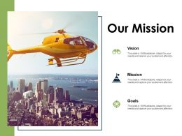 Our Mission Vision I399 Ppt Powerpoint Presentation Gallery Aids