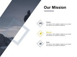 Our Mission Vision I446 Ppt Powerpoint Presentation Icon Show