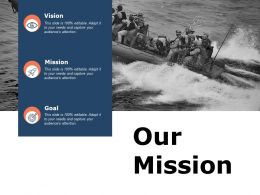 Our Mission Vision L233 Ppt Powerpoint Presentation Pictures Example