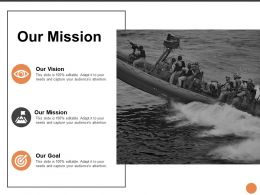 Our Mission Vision L249 Ppt Powerpoint Presentation Inspiration Example